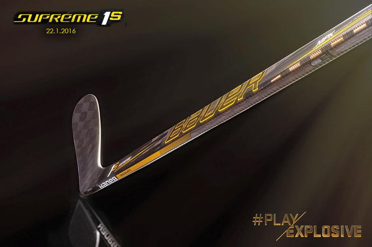 Prochainement disponible en France, la nouvelle collection de crosses Bauer Supreme - #Supreme1S #PlayExplosive 22.1.16