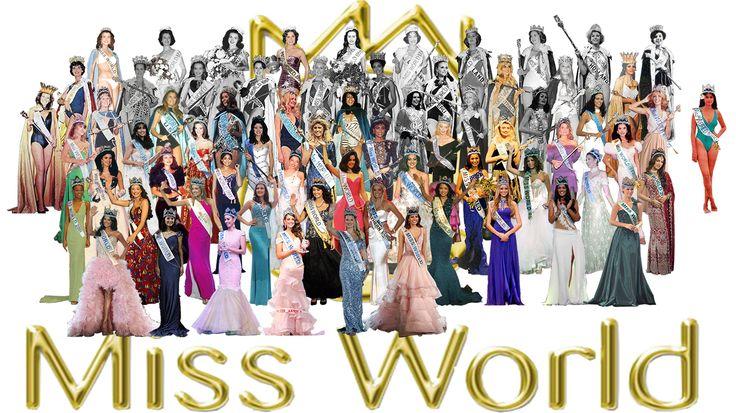 Miss World de 1951 a 2016
