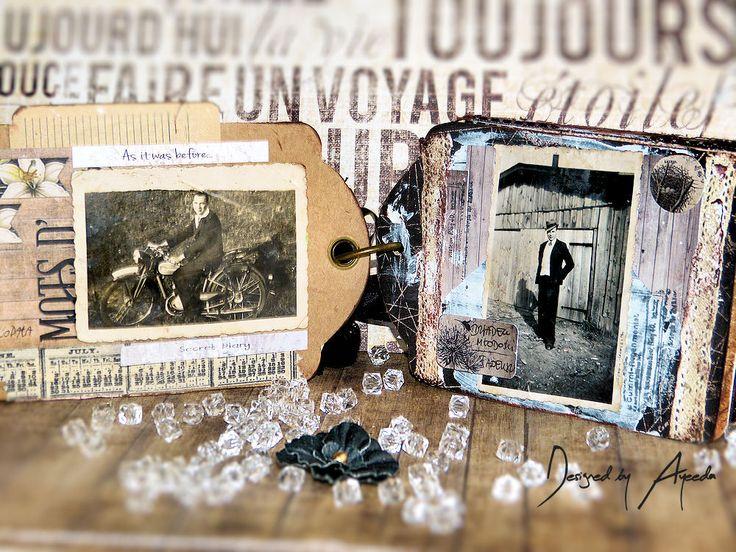 Altered box and Mini album - Flying Unicorn May KOM