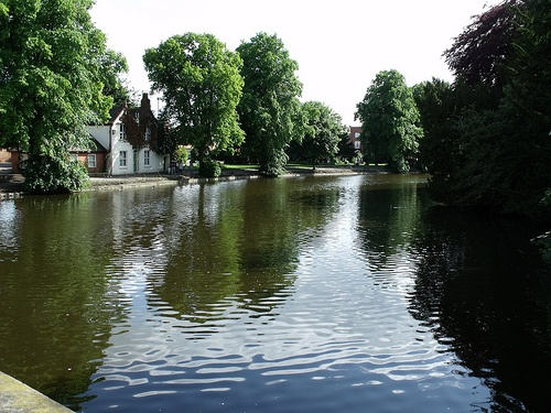 Lake / Pond by Dam Street in Lichfield - Minster Pool