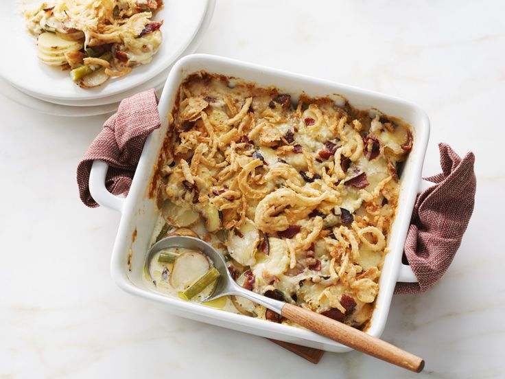 Green Bean and Potato Casserole recipe from Food Network Kitchen via Food Network