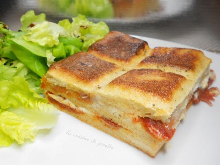 croqu'tablette chorizo chèvre | Idée repas léger, Idée repas léger soir, Cuisine