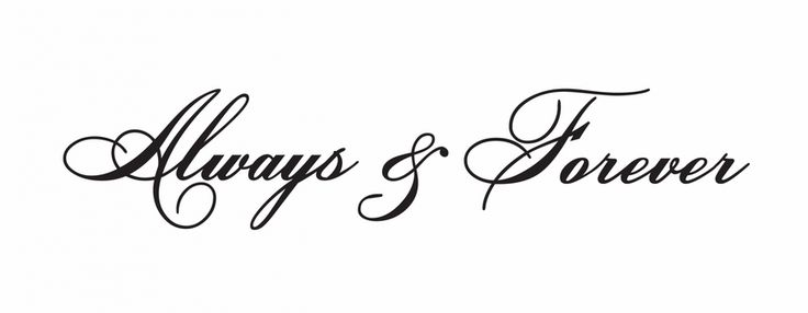 alway and forever - Google Search | Couple tattoos ...