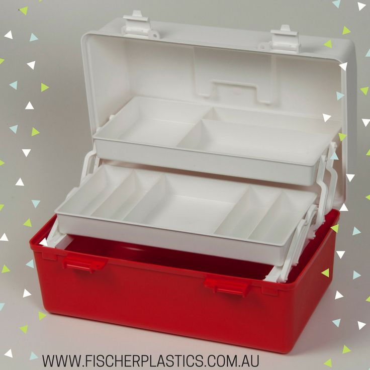 The weather is getting warmer and Summer is on its way! Now is a great time to invest in a Fischer Plastics Tackle Box and make sure you are ready to go fishing.