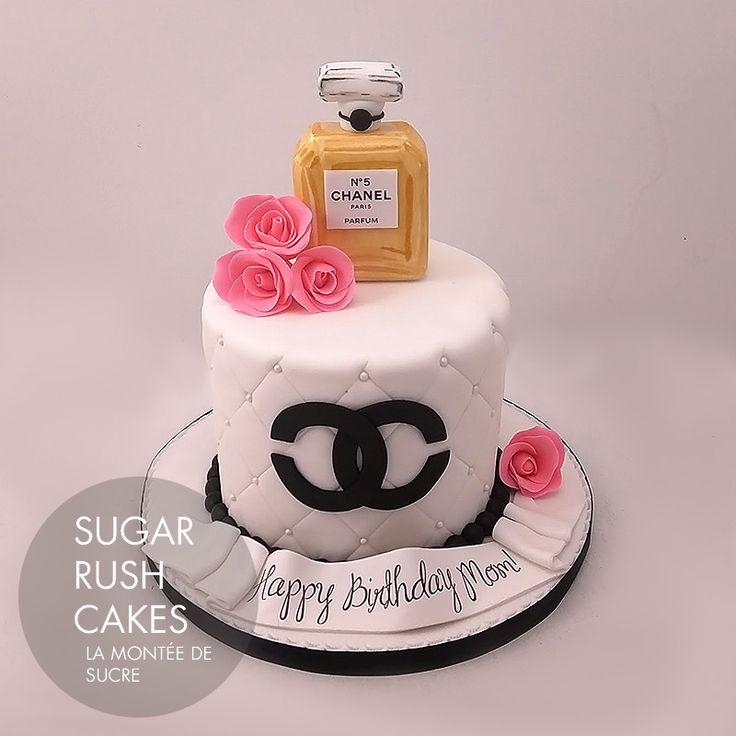 Chanel Perfume Cake In 2019 Chanel Cake Cake Custom