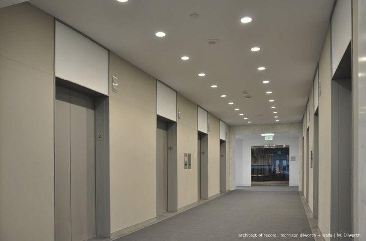 Modern Office Elevator Lobby Design Commercial