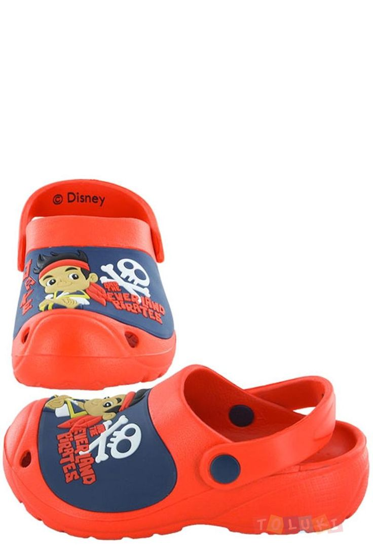 Sabots Jake et les Pirates rouge https://www.toluki.com/prod.php?id=1063 #Toluki  rentrée scolaire, fourniture et vetement D'autres modèles sont disponibles dans notre boutique en ligne