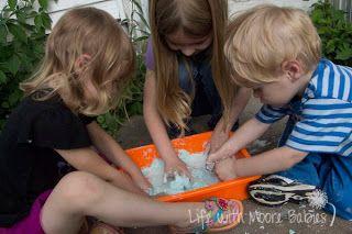 Bubble Dough to Bubbly Oobleck - Enchanted Homeschooling Mom - Enchanted Homeschooling Mom