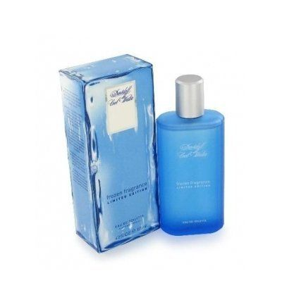 Cool Water Frozen Eau De Toilette Spray 4.2 oz by Davidoff by Davidoff. $48.95. Take on a new cool with this scent for men.. Notes include lavender, rosemary, mint, coriander, orange blossom, jasmine,moss, sandalwood.. Cool Water Frozen by Davidoff, Cool water frozen is a masculine cool aroma.. COOL WATER FROZEN by Davidoff for MEN EDT SPRAY 4.2 OZ Launched by the design house of Davidoff in 2004, COOL WATER FROZEN by Davidoff possesses a blend of A blend of iced tea and mint, wi...