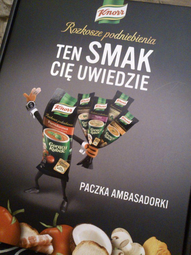 Kampania rekomendacji Gorących Kubków Knorra Rozkosze Podniebienia (Ambasada Trendów).