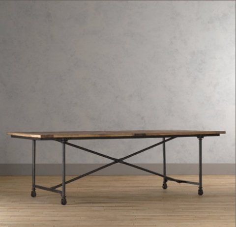 Beautiful industrial table