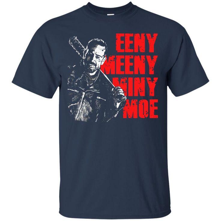 The Walking Dead Negan T shirts Eeny Meeny Miny Moe Hoodies Sweatshirts