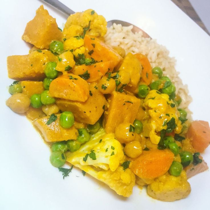 autumn vegetable curry