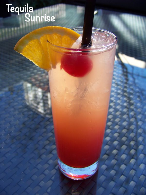 17 best images about drinks cool delicious hot steamy for Best tequila for tequila sunrise