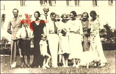 Prinz Carl von Schweden, Prinzessin Ingrid, Martha