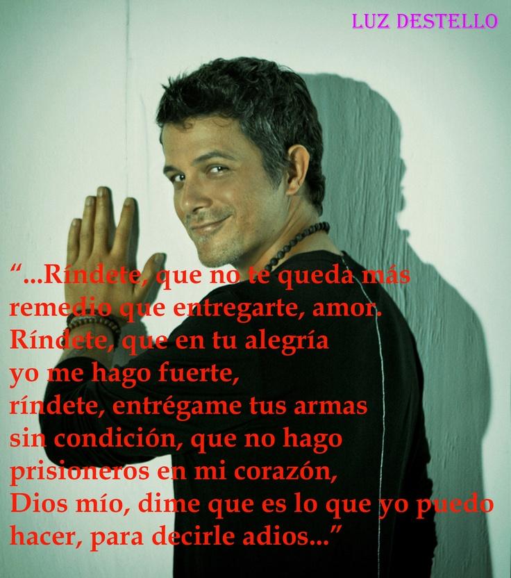 Para decirle adios - Alejandro Sanz