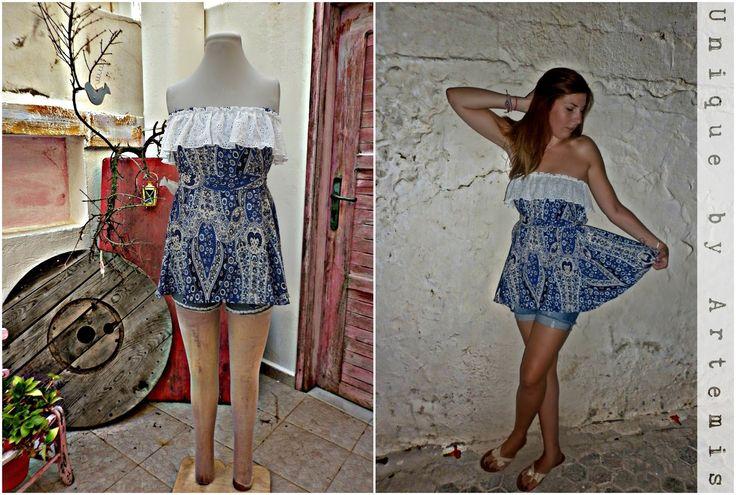 #Bohostyle #hippielook #gypsystyle #handmade #dress