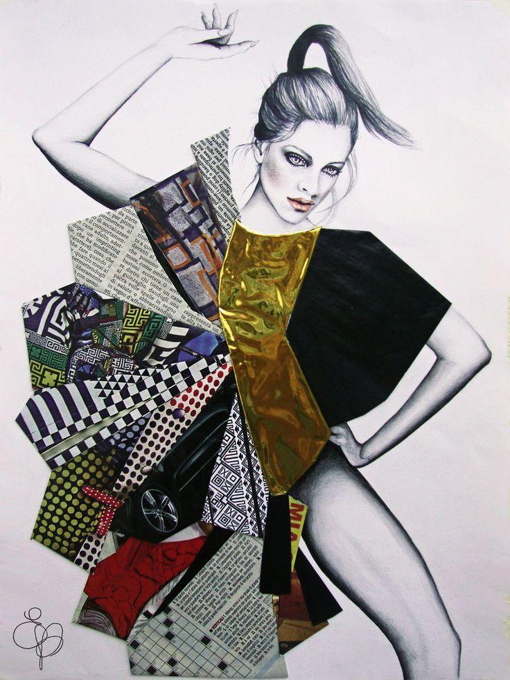 Serie Moda Collage Tav #7 by EVanillaArt on DeviantArt