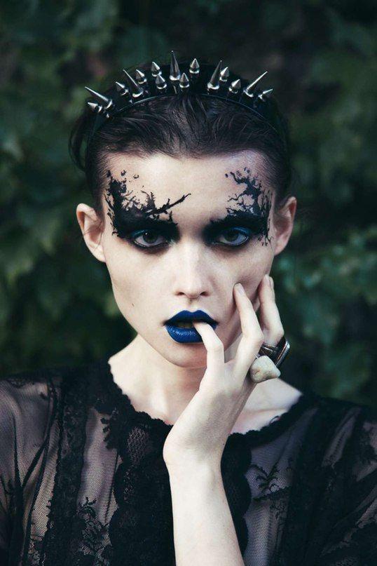 Dark Makeup: 25+ Best Ideas About Dark Fantasy Makeup On Pinterest