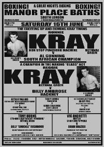 kray twins boxing poster - Google Search
