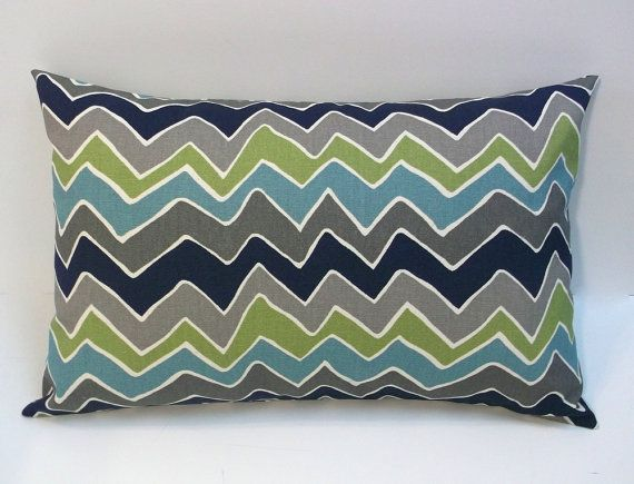 Navy And Teal Throw Pillows: 42 Best Lumbar Pillow: Living Room Images On Pinterest