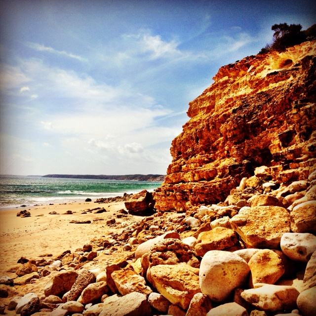 Algarve beach.