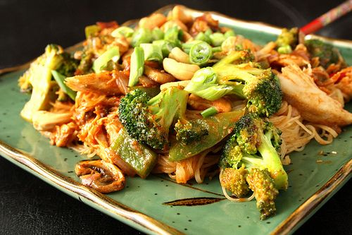 Melanie's Spicy Peanut Chicken: Fares Recipes, Peanut Chicken, Dinners ...