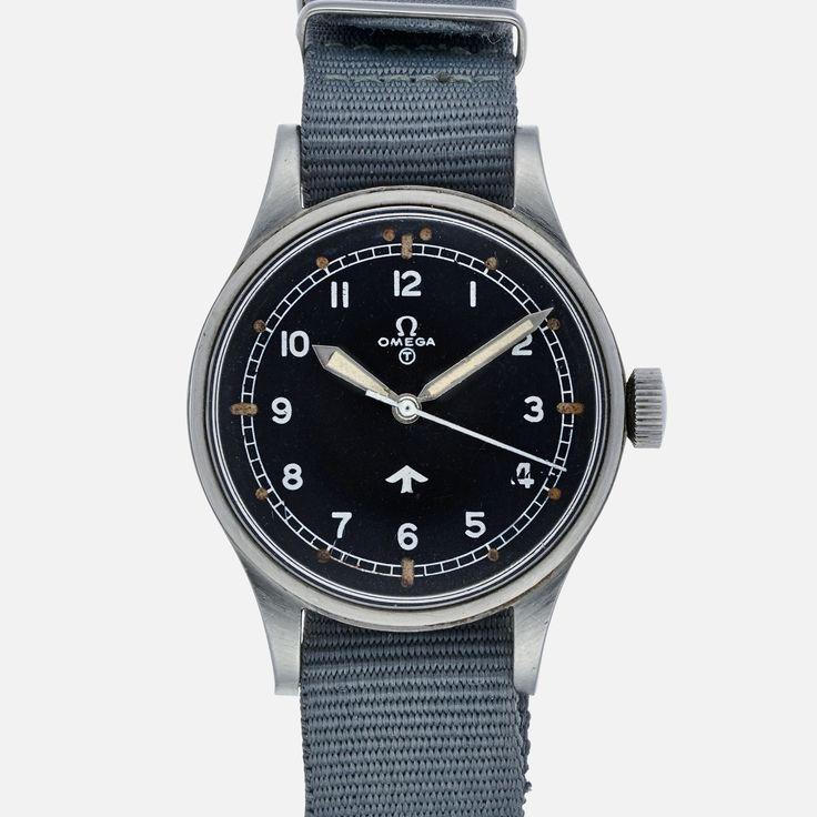 1950s Omega 'Broad Arrow' Military Reference 2777-1