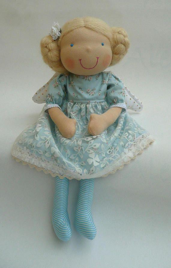Angel Waldorf doll READY TO SHIP Angel doll Rag doll