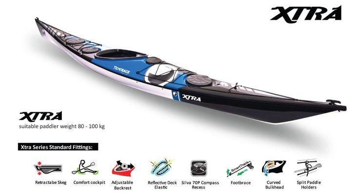 xtra series by Tiderace Kayak