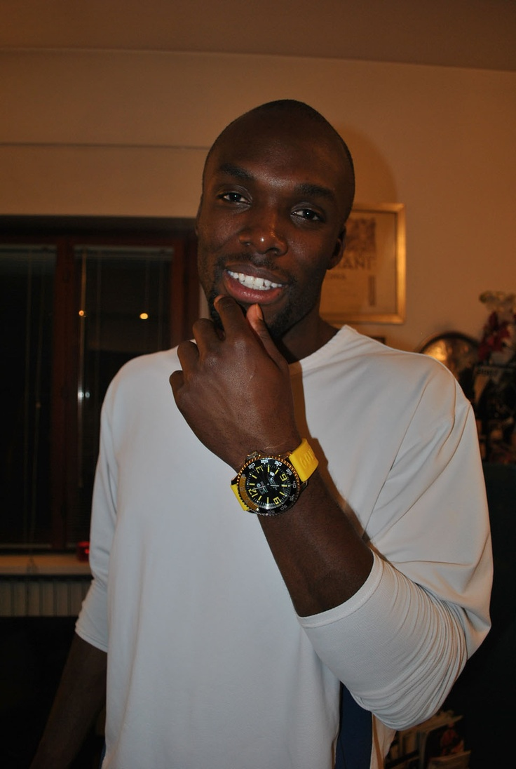 While Many Will be Watching World Champion LaShawn Merritt's  400-meter Times, Others Will be Looking at What's on his Wrist