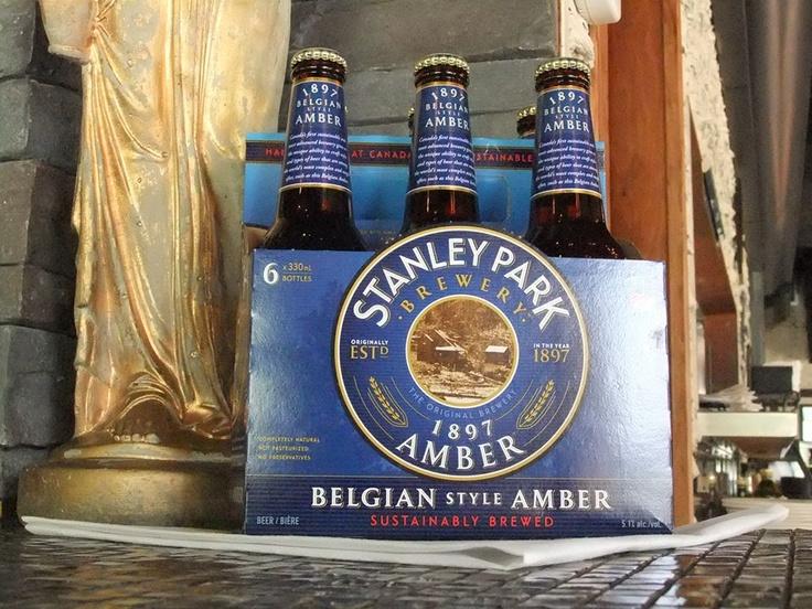 Stanley Park Belgium Amber Beer - $5.50/bottle or $13/bucket