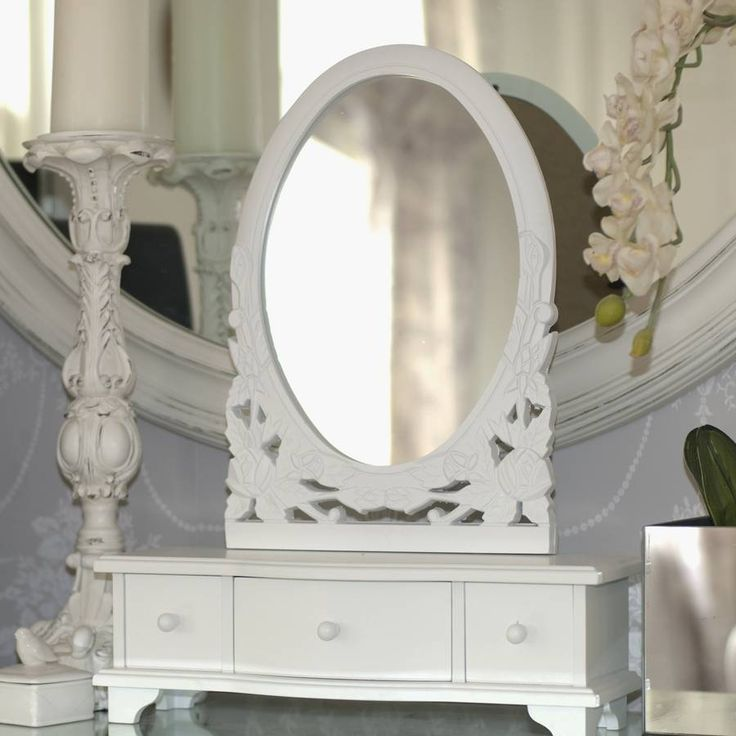 Are you interested in our dressing table mirror? With our traditional white mirror you need look no further.