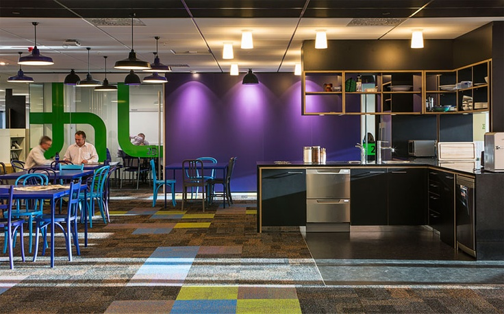 Multiple stories of colour stacked one upon the other in the Beca Fitout by Studio Pacific Architecture was awarded the Resene Total Colour Commercial Interior – Office Award.  Looking to the building at night time these spaces glow with a perfect juxtaposition of colour.