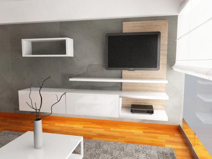25 best ideas about muebles de entretenimiento on - Muebles para televisores ...