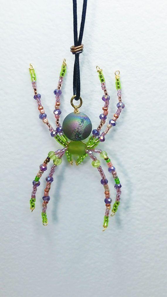 295 besten Beaded spiders Bilder auf Pinterest | Perlentiere, Draht ...