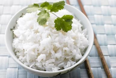 Sticky rice is normally steamed but you can also make sticky rice in your rice cooker with delicious results.