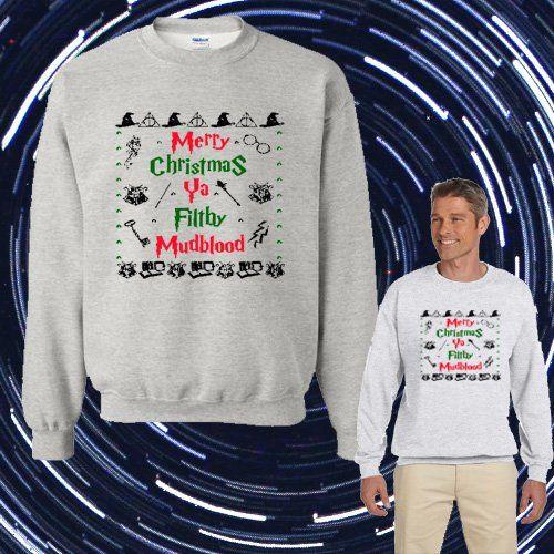 1-800 HOTLINE BLING Ugly Merry Christmas Unisex Adult sweater Crewneck Sweatshirt