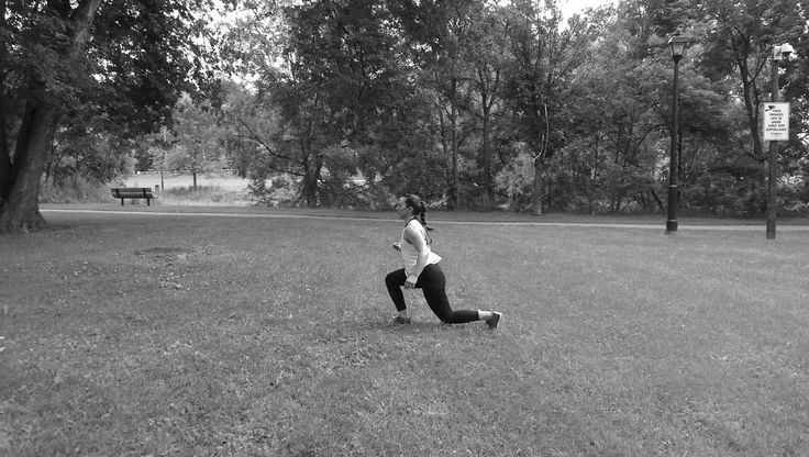 Tutorial: Lunges