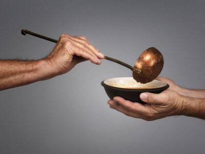 Giving is better than receiving – NastiKitchen