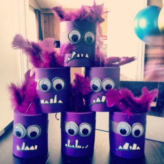 Jeu de quilles Minions - DIY Bowling game Despicable me Minions