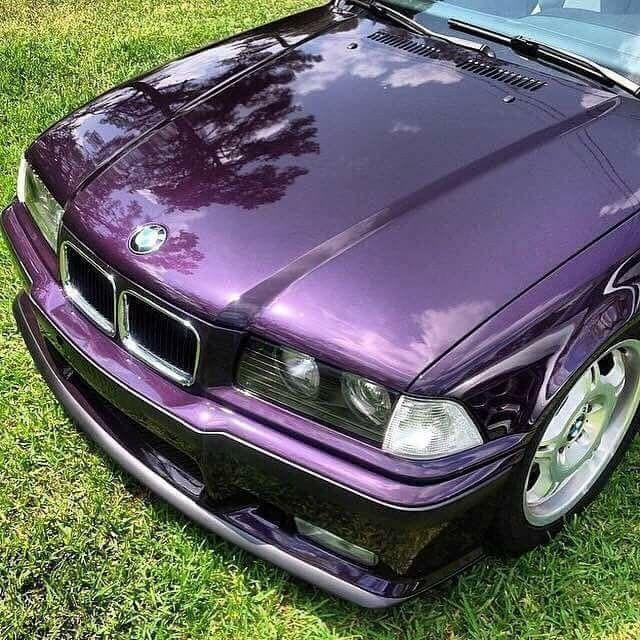 Bmw E36 3 Series Purple Bmw E36 Coupe Bmw Compact Bmw E36