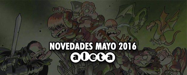 Novedades de Aleta Ediciones para el mes de mayo :) http://www.edicioncoleccionista.com/novedades-aleta-ediciones-mayo-2016/