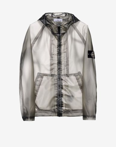 Mid-length jacket 493Y3 POLY COVER COMPOSITE + WOOL CARDIGAN  STONE ISLAND - 7