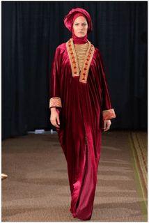 desain busana muslim cardigan songket terbaru 2016