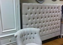 Quilted Bedheads #frenchprovincial #shabbychic #frenchstyle #bedheads #headboards