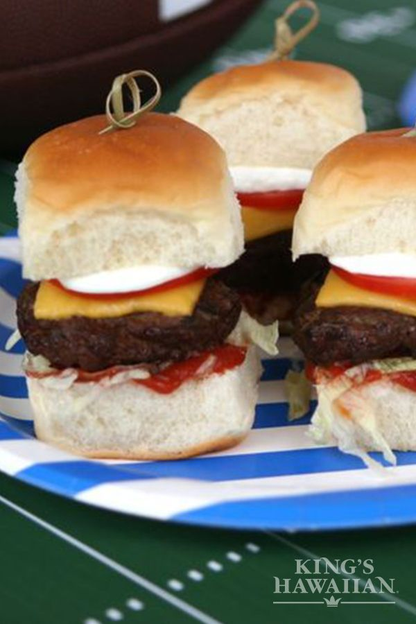 Taco time is interchangeable with slider time for us. Check out our Mom's Taco Sliders recipe.