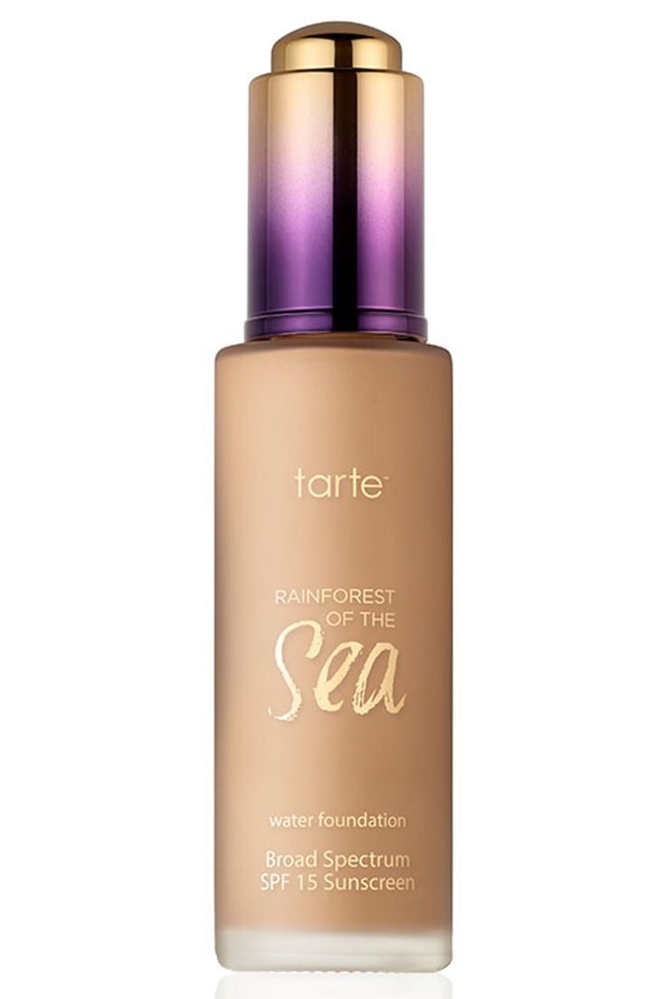 Best Foundation: Tarte Rainforest Of The Sea Foundation, £28