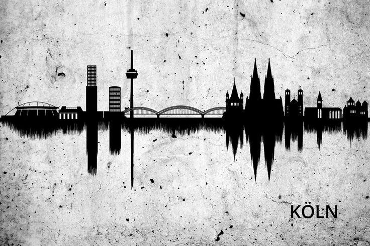 #köln #cologne #poster #skyline #amazing #beautiful #kunst #art #interior #inspiration #decoration #artyourface