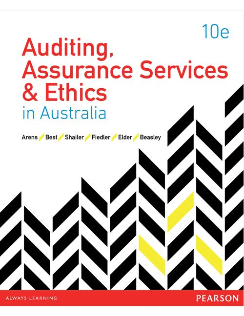 Solution Manual For Auditing Assurance Services And Ethics